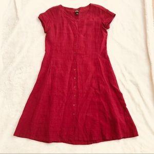 Eileen Fisher Homemaker Style Pocket Dress